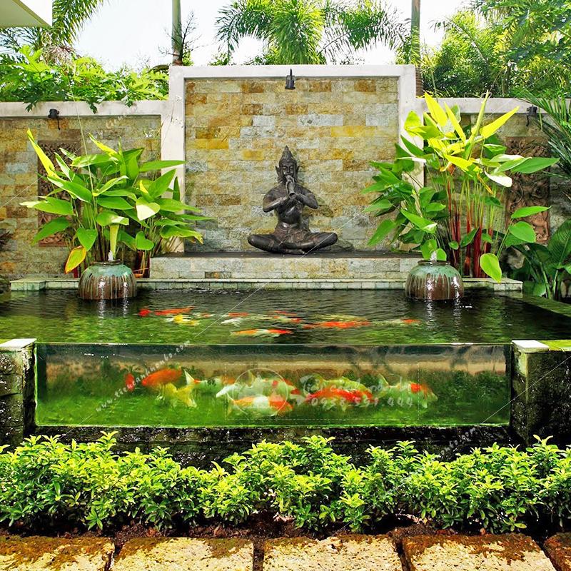 cach-lam-ho-ca-koi Hồ Cá Koi Mini Sân Vườn Trước Nhà