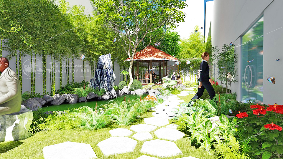 kinh-nghiem-tao-diem-nhan-cho-khong-gian-nha-bang-lap-dat-tieu-canh-san-vuon Tiểu Cảnh Sân Vườn Nhà Phố Theo Phong Thủy